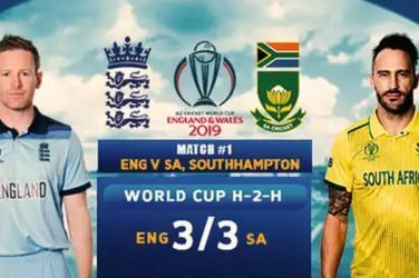 ICC CWC19 | England vs South Africa
