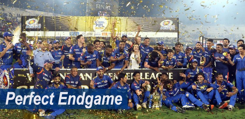 Perfect Endgame: Mumbai Indians clinch 4th IPL Title