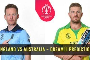 England vs Australia – Dream11 Prediction