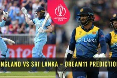 England vs Sri Lanka – Dream11 Prediction