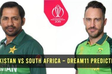 Pakistan vs South Africa – Dream11 Prediction