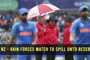 Rain Forces Match to Spill Onto Reserve Day