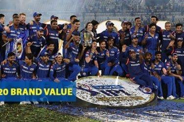 IPL 2020 brand Value