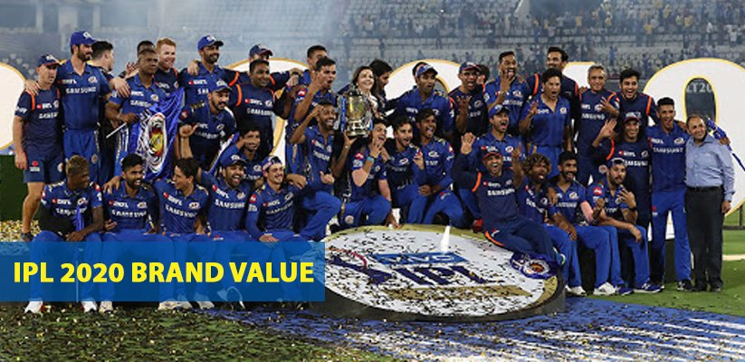 IPL 2020 brand Value