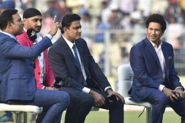 Three Indian great cricketers