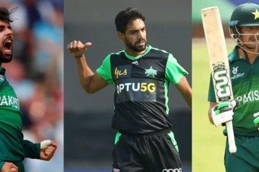 Three Pakistan Players