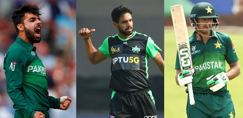Three Pakistan Players