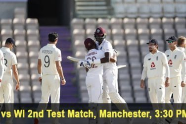 England vs West Indies 2nd Test Match Prediction