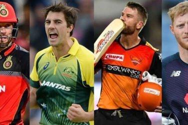 top international cricketers