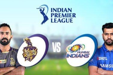 IPL 2020 KKR vs MI Prediction