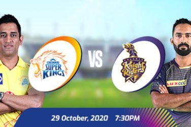 IPL 2020 CSK VS KKR Prediction