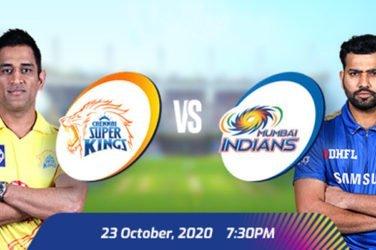 IPL 2020 CSK VS MI Prediction