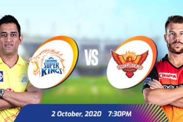 IPL 2020 CSK vs SRH Prediction