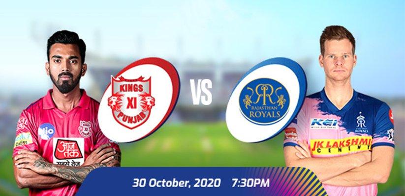 IPL 2020 KXIP VS RR Prediction