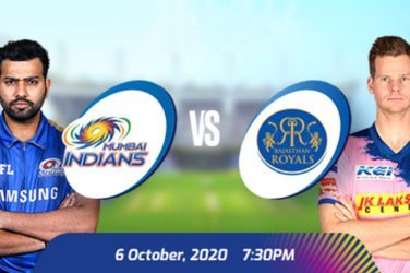 IPL 2020 MI vs RR Prediction