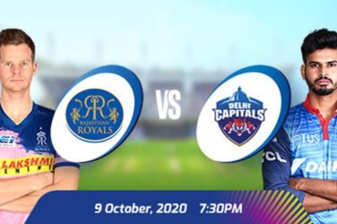 IPL 2020 RR VS DC Prediction