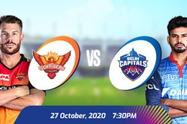 IPL 2020 SRH VS DC Prediction