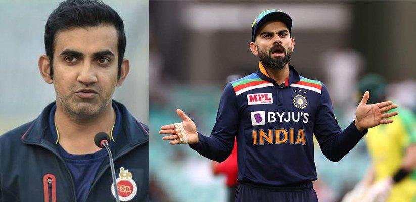 Gambhir-Lashes-Out-at-Kohli's-'Poor-Captaincy'