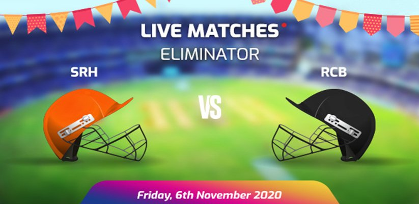 IPL 2020 Eliminator SRH VS RCB Prediction
