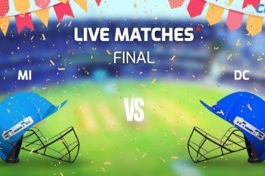 IPL 2020 Final MI VS DC Prediction