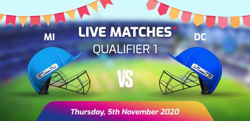 IPL 2020 Q1 MI VS DC Prediction