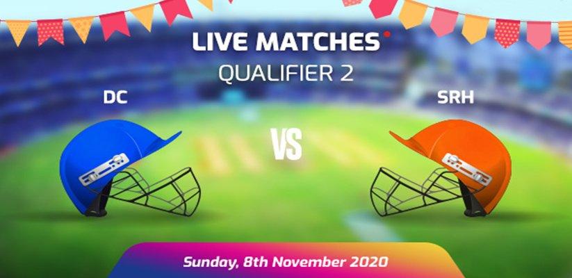IPL 2020 Q2 DC vs SRH Prediction