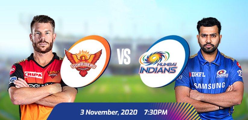IPL 2020 SRH vs MI Prediction