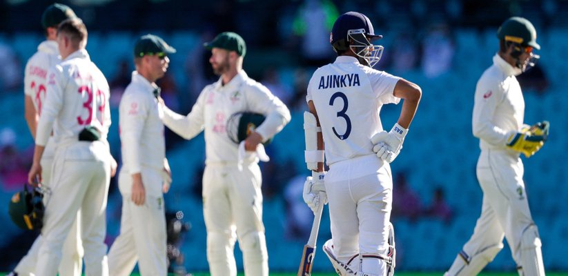 India vs Australia 4th Gabba Test Record