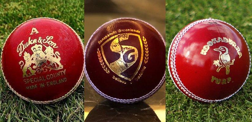 Duke's Vs SG Vs Kookaburra Ball Comparison