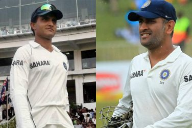 Sourav Ganguly Vs Dhoni