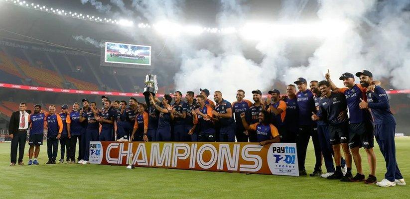 India wins by 36 runs