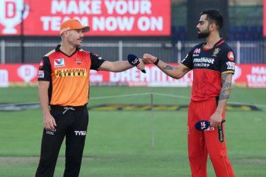 IPL 2021 RCB vs SRH