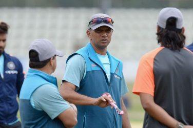 Rahul Dravid to coach