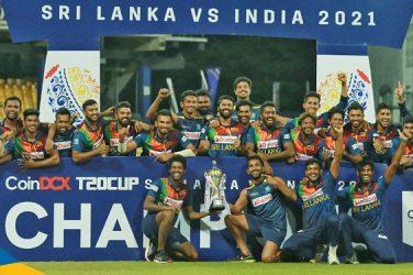 Sri Lanka wins by 7 Wickets