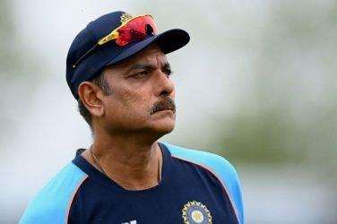 Indian Coach Ravi Shastri